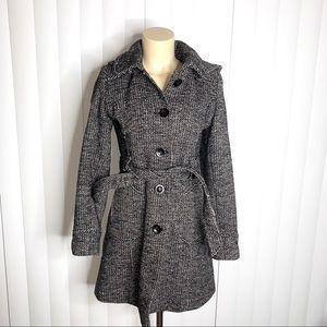 American Rag Hooded Trench Coat Jacket